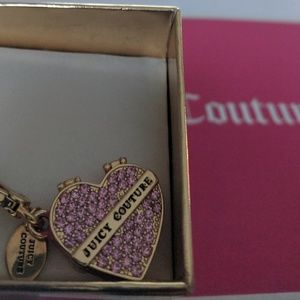 Limited edition juicy couture charm.